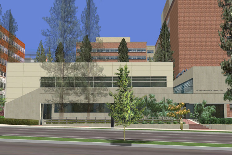 Artist's rendering of Rosenfeld Hall
